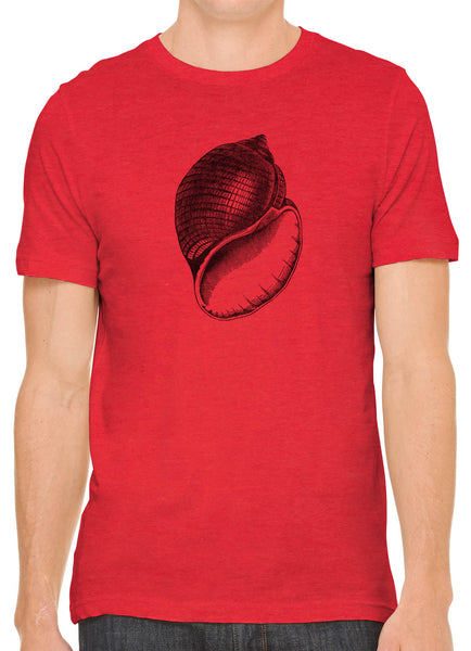 Austin Ink Apparel Antique Shell Short Sleeve Cotton Mens T-Shirt