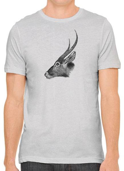 Austin Ink Apparel Antelope Profile Short Sleeve Cotton Mens T-Shirt