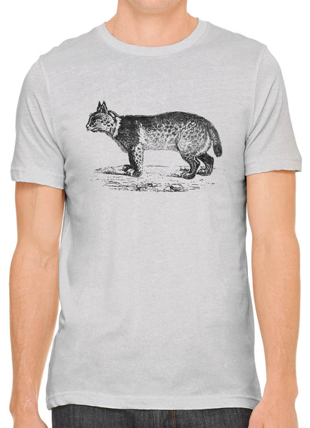Austin Ink Apparel American Bobcat Short Sleeve Cotton Mens T-Shirt