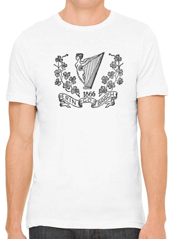 Austin Ink Apparel Allegiance to Ireland Short Sleeve Cotton Mens T-Shirt