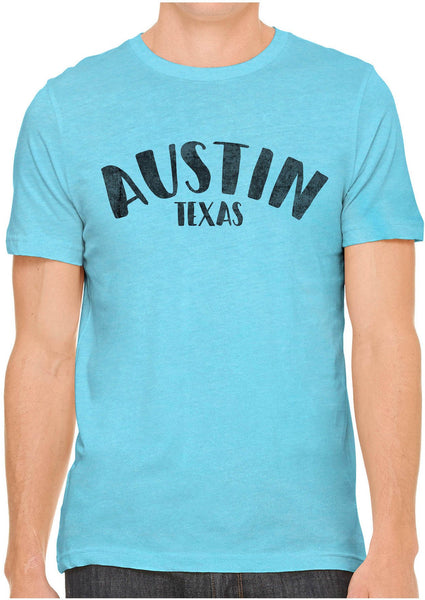 Printed In The Usa Austin Ink Apparel City Of Austin Texas Short Sleeve Cotton Mens T Shirtin Color Silver Size Extra Extra Large