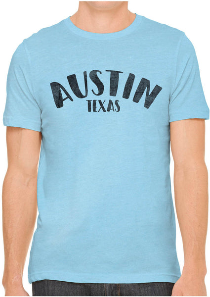 Printed In The Usa Austin Ink Apparel City Of Austin Texas Short Sleeve Cotton Mens T Shirtin Color Leaf Green Size Extra Extra Large