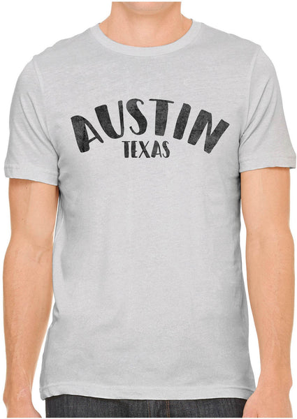 Printed In The Usa Austin Ink Apparel City Of Austin Texas Short Sleeve Cotton Mens T Shirtin Color Red Size Extra Extra Large