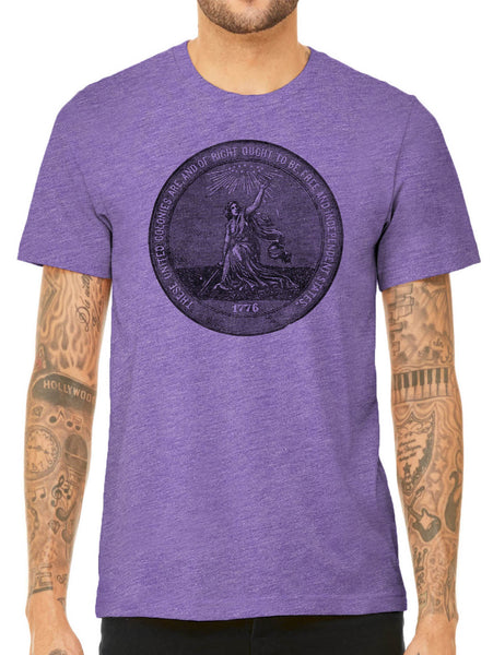 Austin Ink Apparel 1876 Centennial Exposition Quality Triblend Short Sleeve Mens T-Shirt