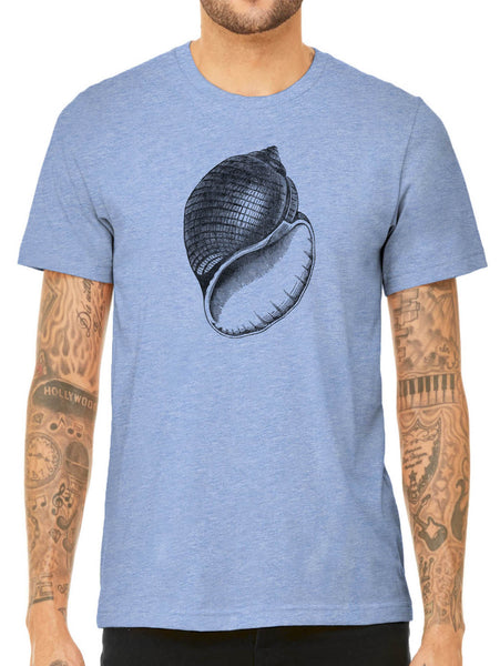 Austin Ink Apparel Antique Shell Quality Triblend Short Sleeve Mens T-Shirt