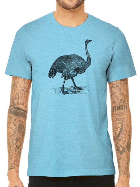 Austin Ink Apparel Australian Emu Quality Triblend Short Sleeve Mens T-Shirt
