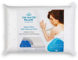 The Water Pillow by Mediflow - Memory Foam