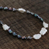 Handmade Irregular Freshwater Pearls Necklace