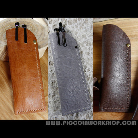 Pen Case,Pen Holder,Pen Pouch,Hand Stitched Leather Pen Case, Leather Pen Holder,Handmade Leather Pen Pouch