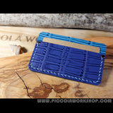 Hand Stitched Leather Card Wallet, Leather Card Holder, Leather Business Card Case, Card Holder