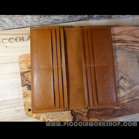 Wallet, Wallets For Men, Wallets For Women,Mens Leather Wallets,Leather Wallet,Hand Stitched Genuine Leather Long Wallet