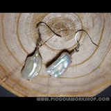 Natural Pearl Bead Earrings