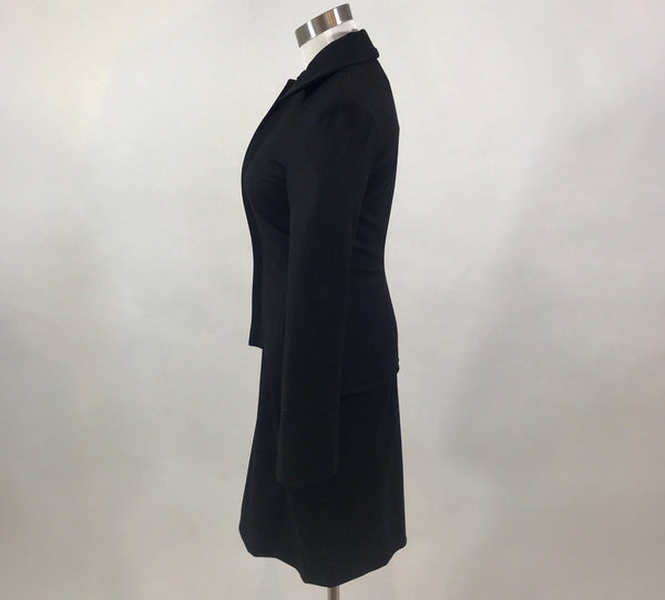 Lanvin Paris Wool Skirt Suit