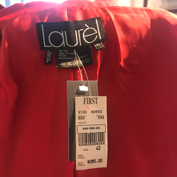 Laurel Red Jacket NWT
