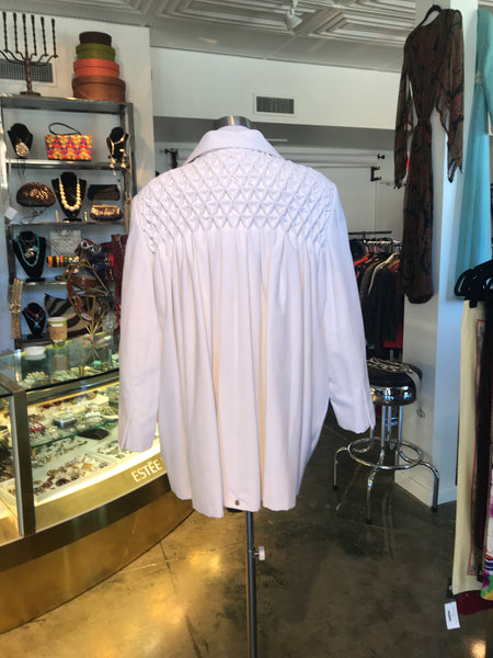 Galanos White Coat