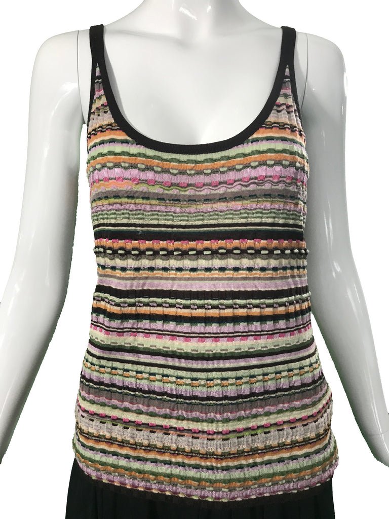 Missoni Crochet Top