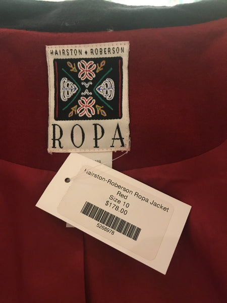 Hairston-Roberson Ropa Jacket