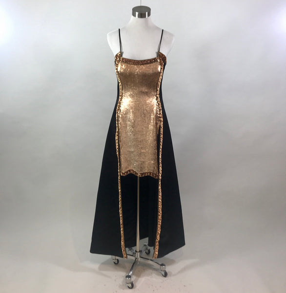 Fabrice Sequin Long Dress