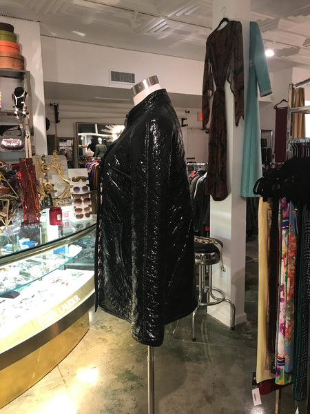 Patent Leather Coat