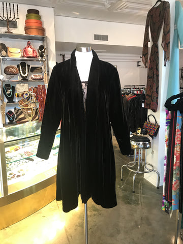 Jay Jacobs Velvet Coat