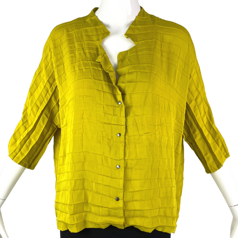 Babette Yellow Green Top