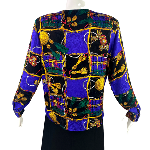 Jerri Sherman Silk Blouse
