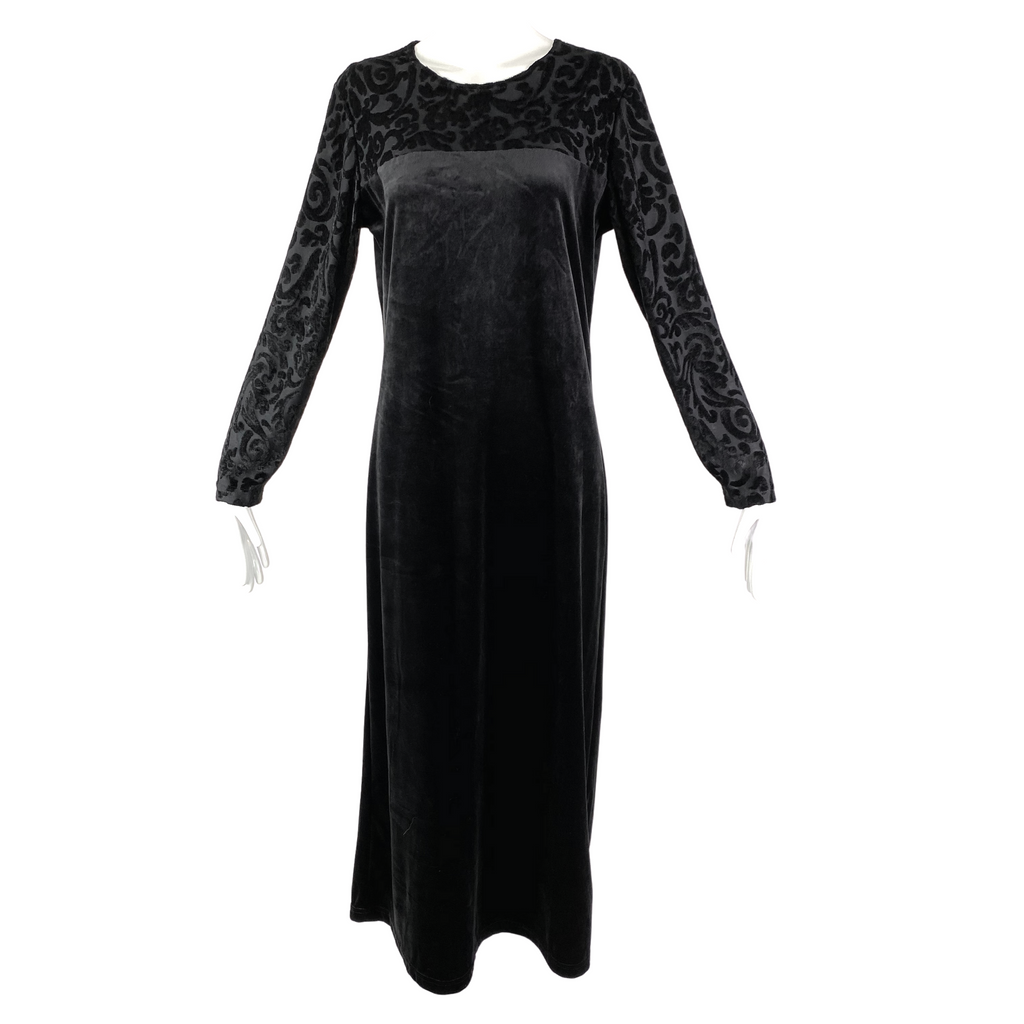 DVF The Color Authority Black Caftan