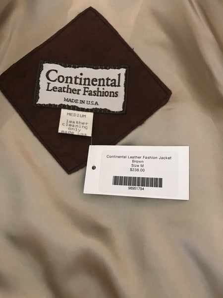 Continental Leather Fashion Jacket