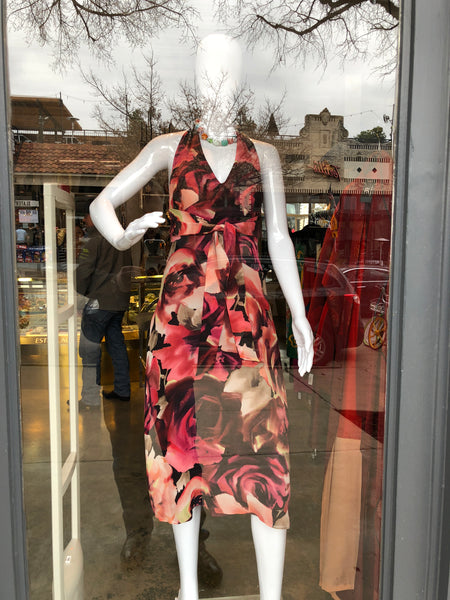 Emanuel Ungaro Silk Floral Dress