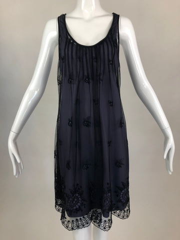 Rebecca Taylor Black Lace Dress