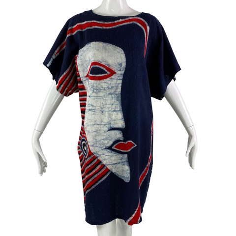 Shan Feng Abstract Caftan