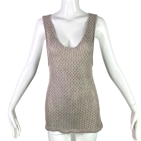 Helmut Lang Sheer Knit Top