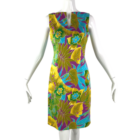 David Meister Tropical Dress