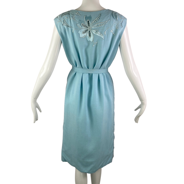 50's Margaret's Lubbock, TX Rayon Dress