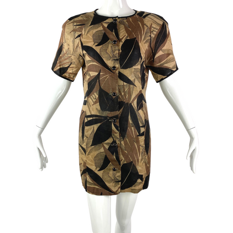Anne Crimmins for UMI Collections Silk Dress