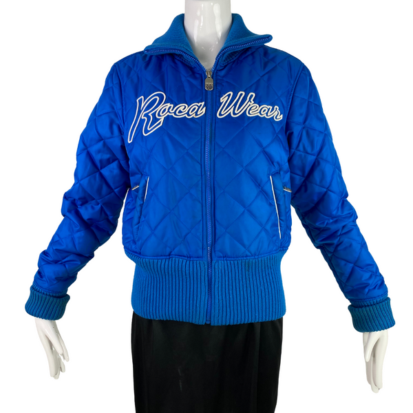 RocaWear Blue Puff Nylon Jacket
