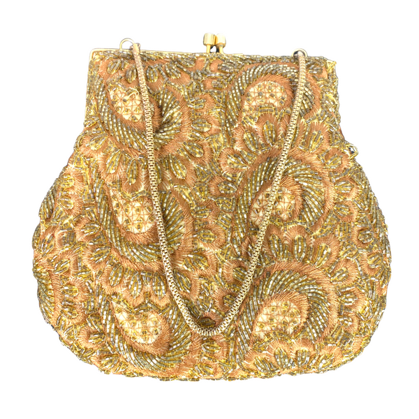Vintage Hong Kong Beaded Bag