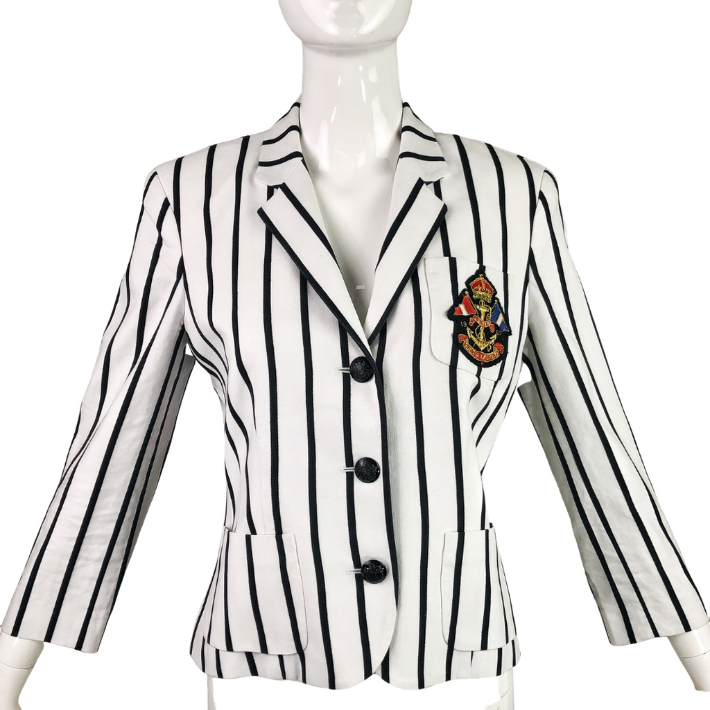 Lauren by Ralph Lauren Stripe Jacket