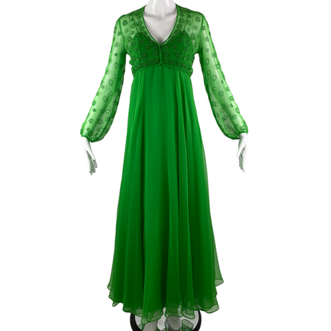 Victoria Royal Ltd. Chiffon Sequin Dress