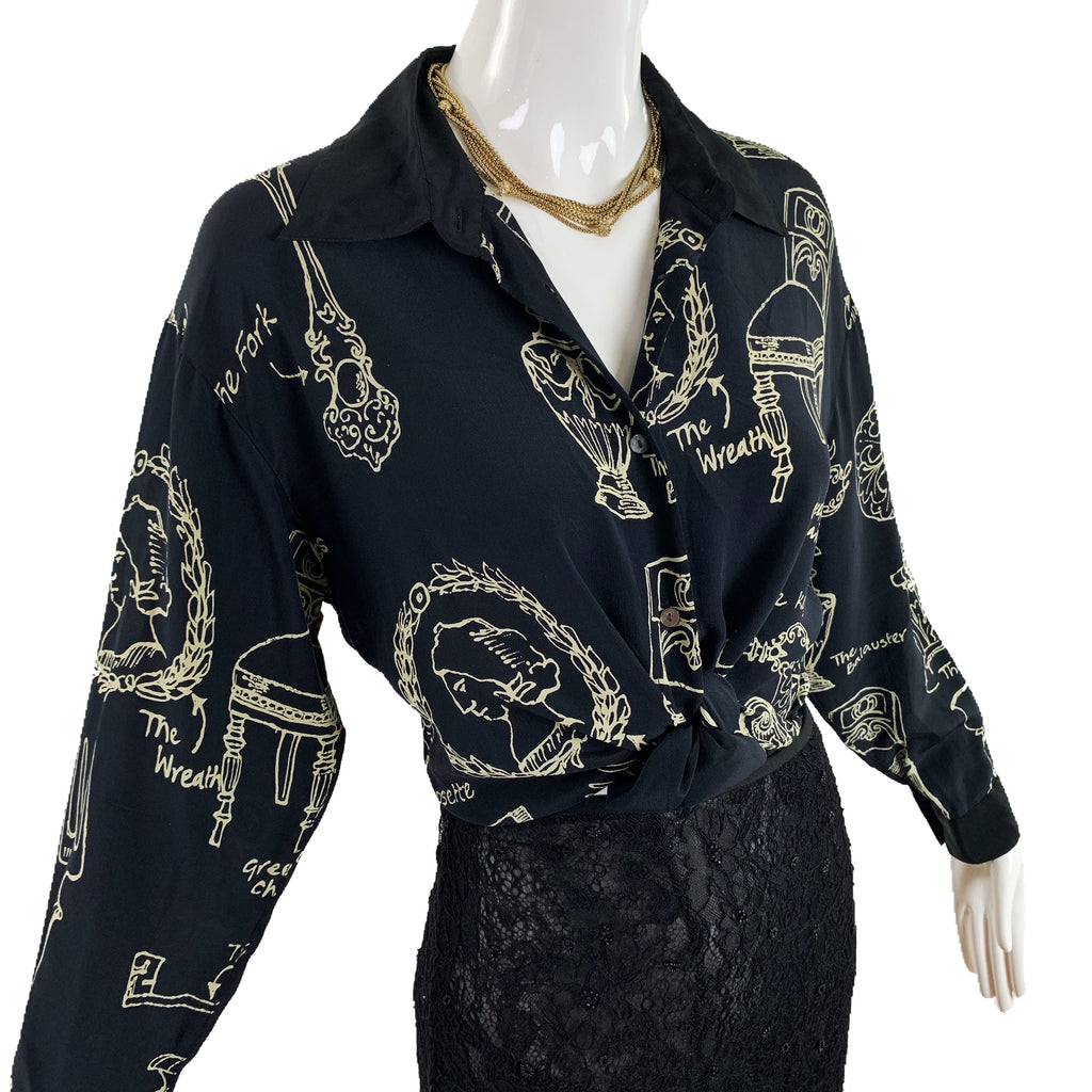 Timney Fowler London Silk Blouse
