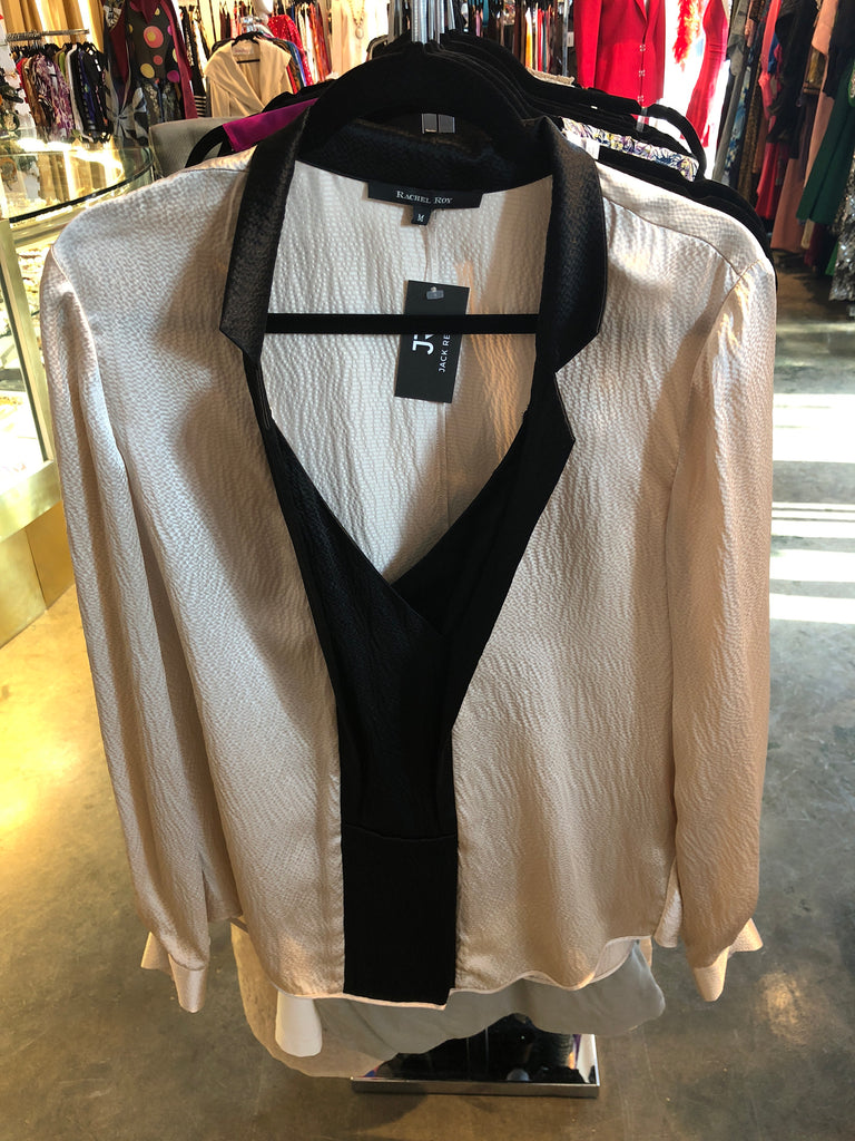 Rachel Roy Silk Blouse