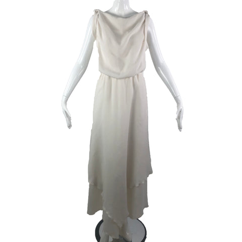 Kambriel Greek White Revival Gown