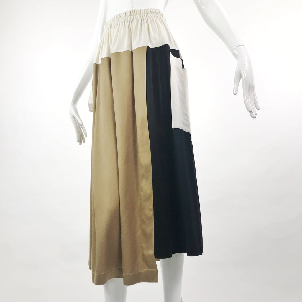 Asymmetrical Italian Skirt