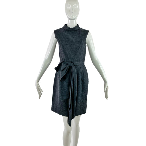 YSL Grey Wool Dress