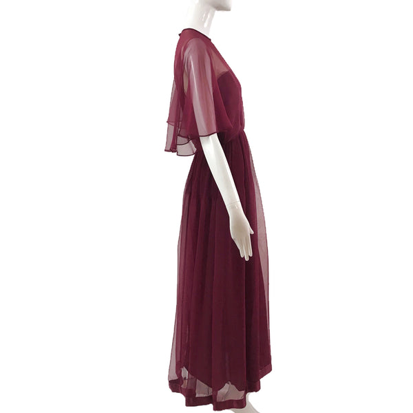 Victor Costa 80's Gown