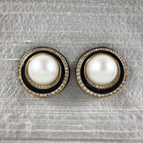 Nina Ricci Clip Earrings