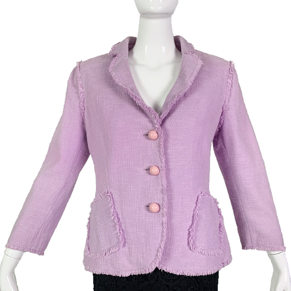 Moschino Lavender & Pink Jacket