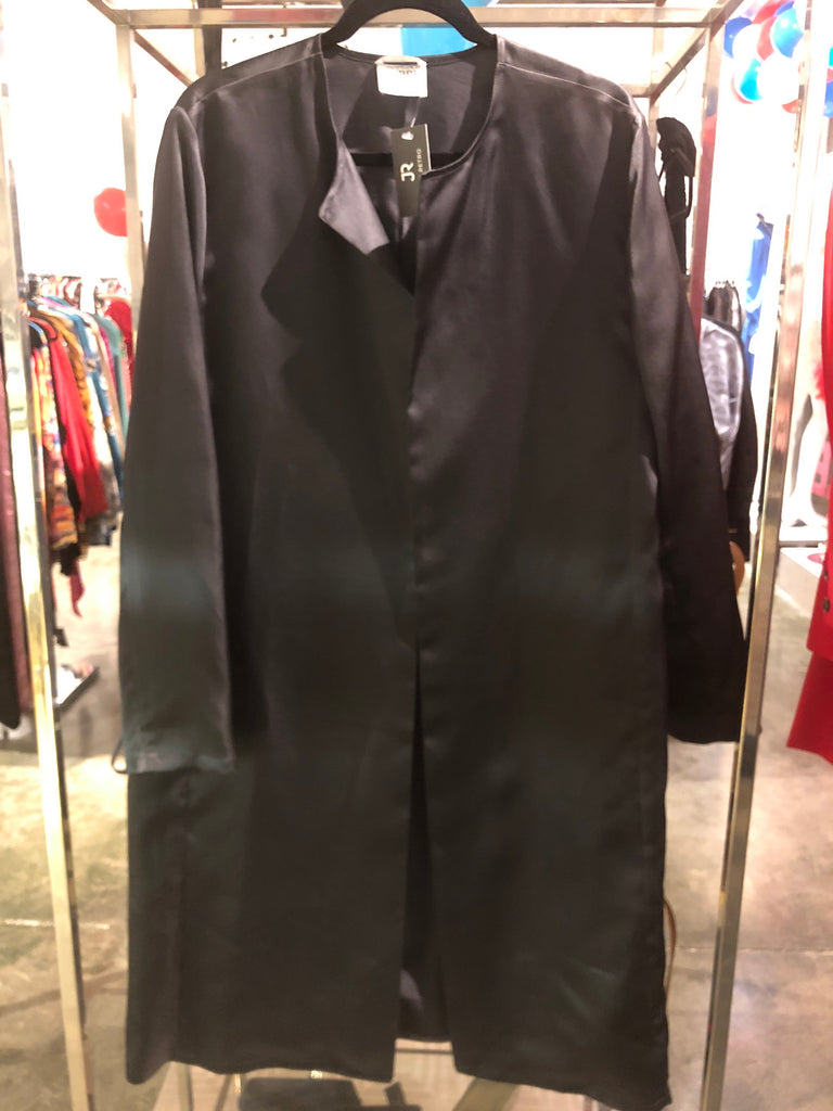 Gianfranco aferre Studio Black Silk Jacket