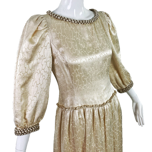 Mary McFadden 80's Gown
