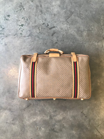 80's Gucci Supreme Luggage Bag